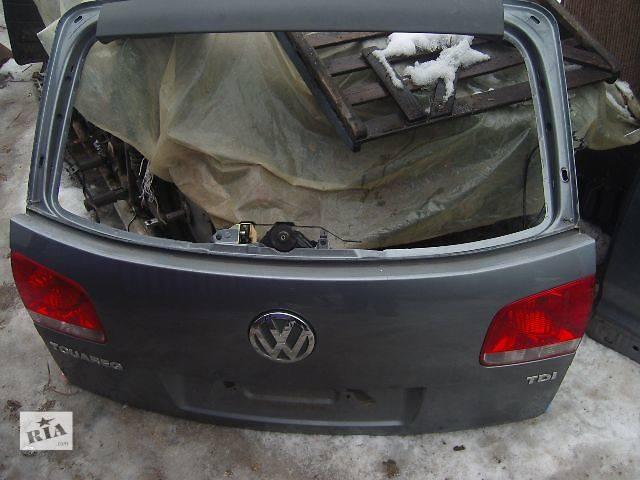 продам б/у Двери/багажник и компоненты Крышка багажника Легковой Volkswagen Touareg бу в Виннице