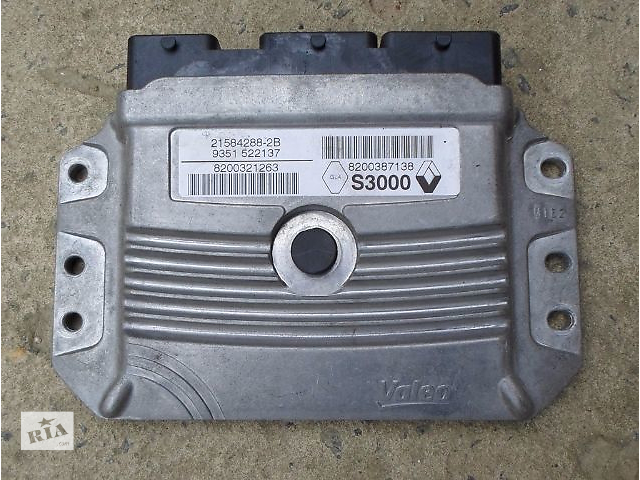 бу б/у Электрооборудование двигателя Блок управления двигателем 8200387138 Легковое авто Renault Scenic в Хмельницком