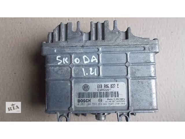 продам Б/у Электрооборудование двигателя Блок управления двигателем Легковой Skoda 1.4 1997 6K0906027E бу в Ровно