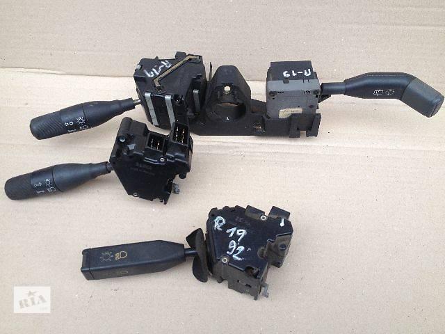 купить бу б/у Электрооборудование кузова Подрулевой переключатель Легковой Renault 19 в Луцке