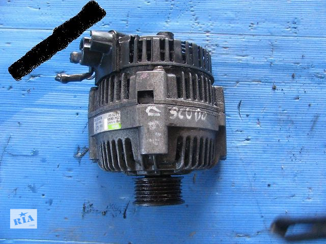 купить бу Б/у генератор/щетки для легкового авто Fiat Scudo 2001 в Тернополе
