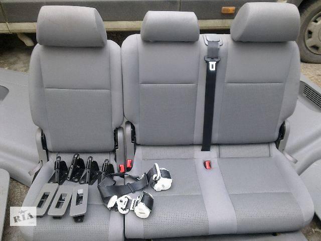 б/у Компоненти кузова Сидіння Легковий Volkswagen Caddy 2008- объявление о продаже  в Львові
