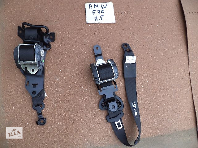 Б/у ремень безопасности задний левый 72 11 7 161 847 для кроссовера BMW X5 E70 2008г- объявление о продаже  в Николаеве
