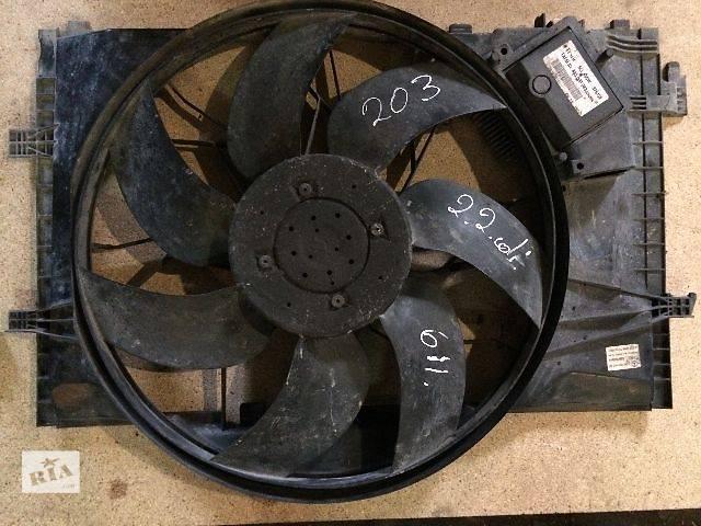 купить бу б/у Система охлаждения Вентилятор осн радиатора Легковой Седан Mercedes C-Class 2001 в Ивано-Франковске
