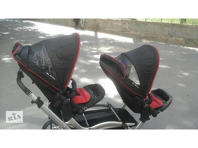 бу Продам детскую коляску для двойни в Киеве