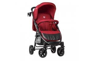 Прогулочная детская коляска El Camino M 3409L FAVORIT Crimson