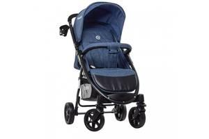 Прогулочная детская коляска El Camino M 3409L FAVORIT Navy Blue