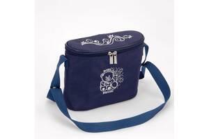 Сумка на коляску для бутылочек Baby Breeze 0345 синяя
