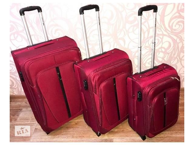 бу Дорожный чемодан - валіза WINGS 1706/1710 сумка на колесах Польша в Запорожье
