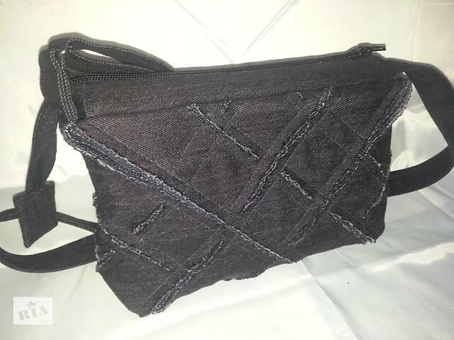 купить бу Джинсовая сумочка кросс боди ручная работа в Кривом Роге