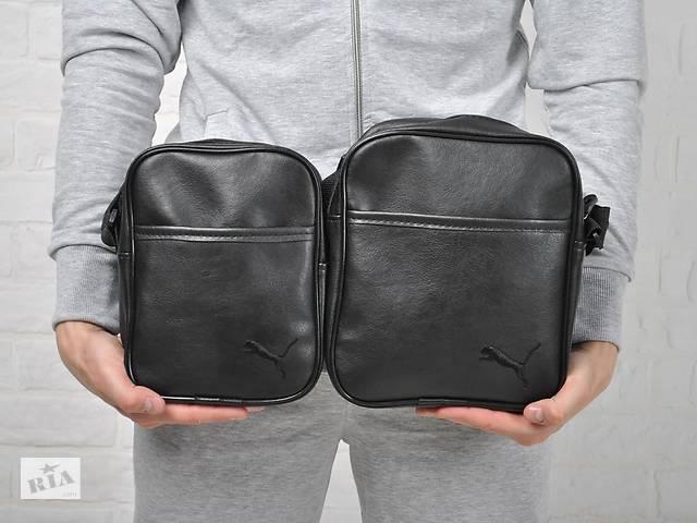 продам Мужская барсетка Puma из эко-кожи, сумка через плечо, пума два размера бу в Ровно