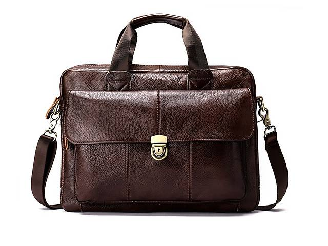 купить бу Мужская сумка Westal L&K формат A4! Портфель! Натуральная кожа в Харькове