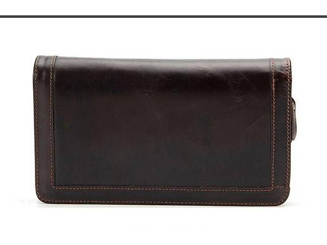купить бу Мужской кожаный клатч, барсетка, портмоне Westal в Киеве