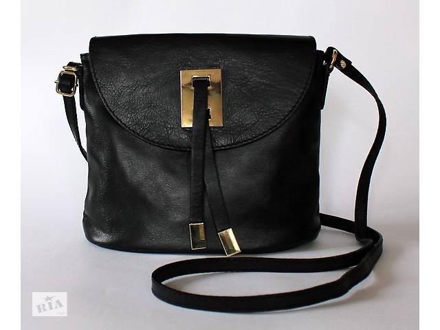 320aae5adfc8 продам Новая черная итальянская кожаная сумка, натуральная кожа (Италия) бу  в Харькове