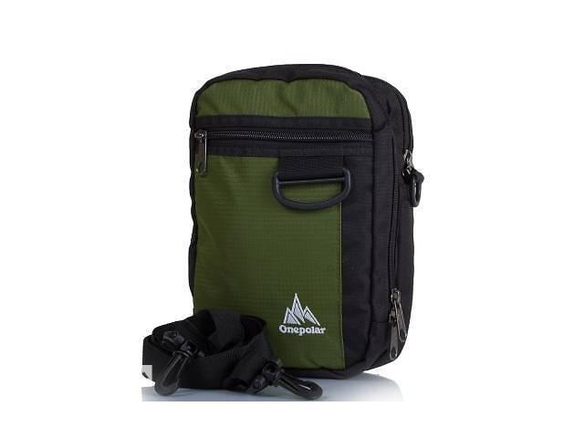 a12124a50134 купить бу Мужская спортивная сумка ONEPOLAR (ВАНПОЛАР) W3023-green в Белой  Церкви (