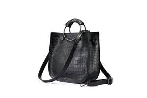 7608f8f10d95 Женские сумки Добавить фото · Сумка женская черная кожаная жіноча новая
