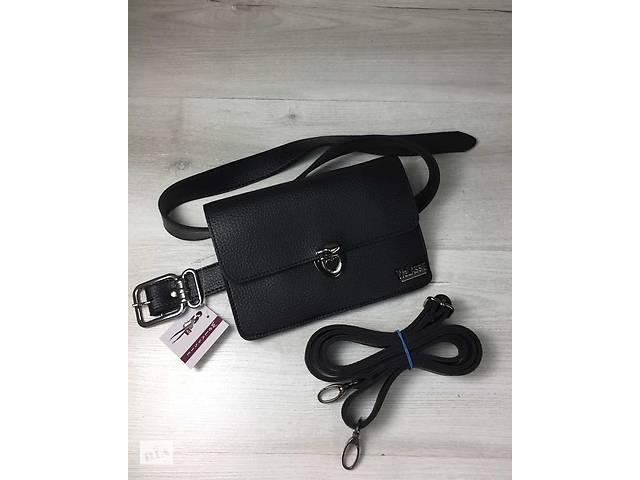 Женская сумка на пояс- клатч Арья черного цвета - Сумки, кошельки в ... ac7d3696a49