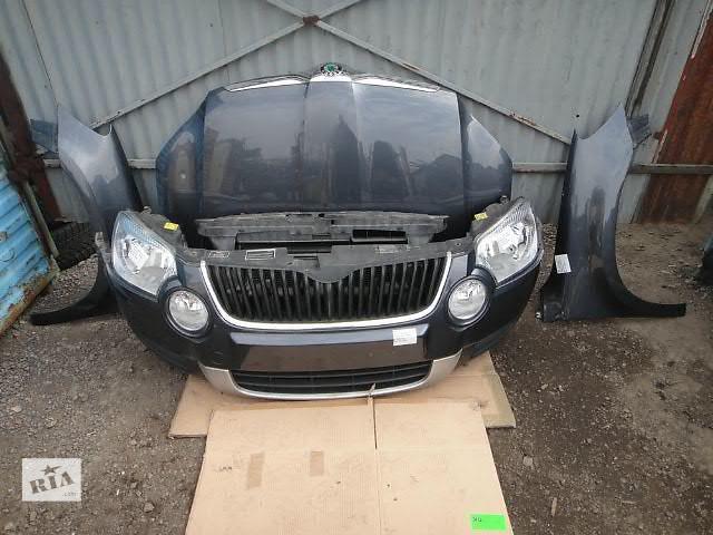 продам Бампер передний для легкового авто Skoda Yeti SKODA YETI  морда комплектная бу в Жовкве