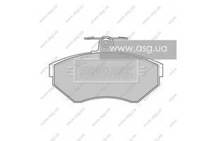 BBP1620 BORG  BECK - Гальмівні колодки до дисків - Новое