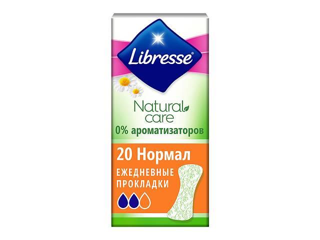 купить бу Ежедневные прокладки  Libresse Natural Care Pantyliners Normal, 20 шт  в Украине