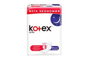 Гигиенические прокладки Кotex Ultra Night, 24 шт