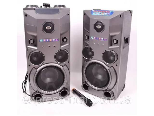 Комплект активной акустики с радиомикрофоном Rock Music RC-8950 (150W/FM/Bluetooth/USB)- объявление о продаже  в Харькове