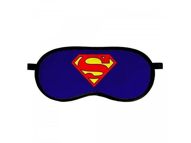 """продам Маска для сна Presentville """"Супермен!"""", 18,5х8,5 см., синий бу в Києві"""
