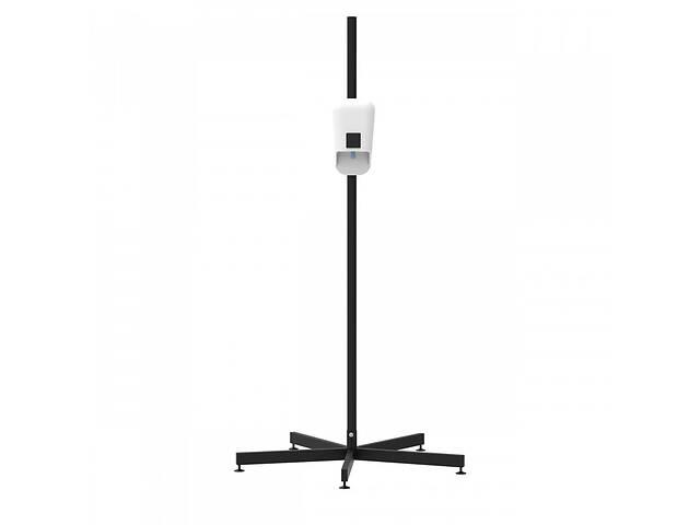 купить бу Мобильная стойка СТ-1 для диспенсеров металлическая черная (sbt_1911)  в Україні