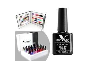 Набор гель-лаков для маникюра 60 цветов, профессиональный Venalisa 901-960