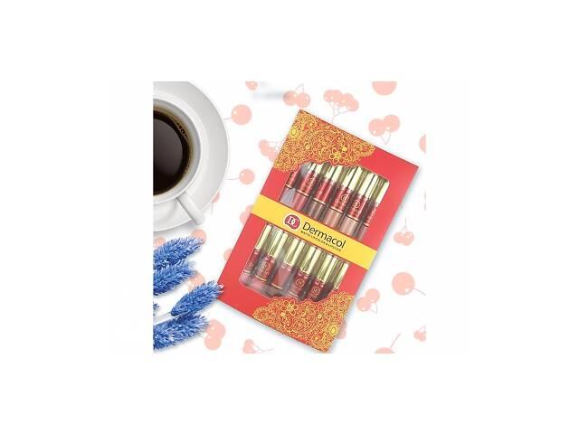 Набор матовых помад и блеск для губ Dermacol DC 12 шт SKL11-131701- объявление о продаже  в Одессе