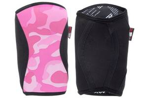 Наколенники RockTape KneeCaps Pink 5мм (RT00043)XL