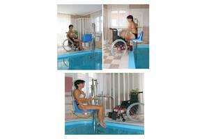 Платформа для бассейна для людей с инвалидностью