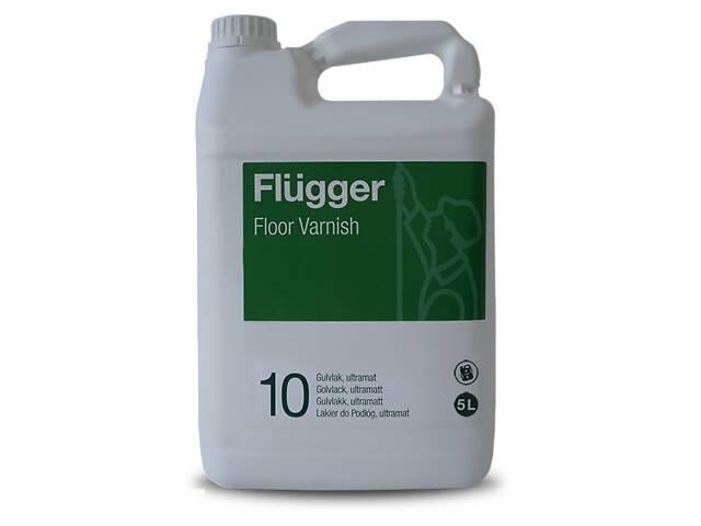 купить бу Полиуретан-акриловый лак Flugger Floor Varnish 10 5л (hub_pvoE75312) в Киеве