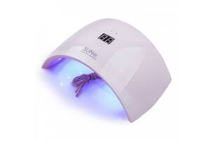 Професійна настільна УФ лампа для манікюру і педикюру SUN 9s 24W LED лампа для сушки гель лаку нігтів