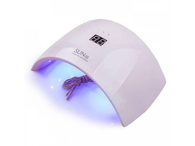 продам Професійна настільна УФ лампа для манікюру і педикюру SUN 9s 24W LED лампа для сушки гель лаку нігтів бу в Харкові