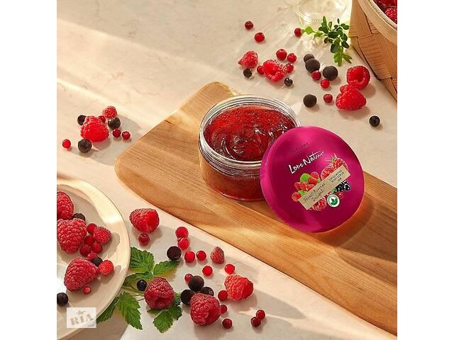 купить бу 🍓Скраб-джем для тела с лесными ягодами Love Nature, 200мл🍇 в Одессе