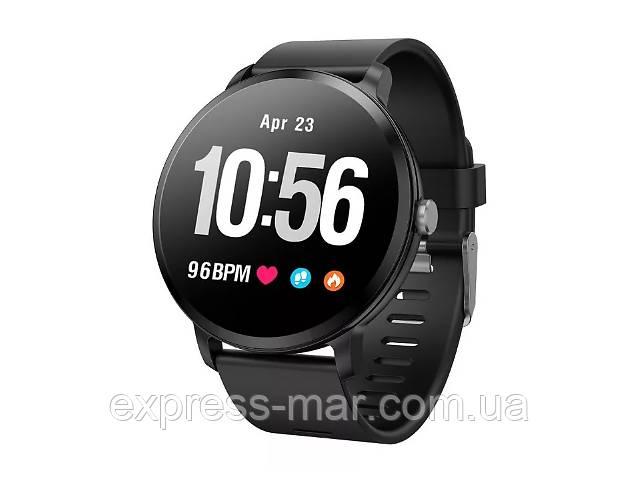 купить бу Smart Watch часы V11, Фитнес часы с IPS дисплеем, тонометр, пульсометр, шагомер в Харькове