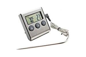 Термометр для м'яса KCASA TP-700 (0C до +250C) з таймером та магнітом