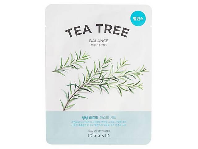 Тканевая маска для лица It& rsquo; s Skin The Fresh Tea Tree Mask Sheet с экстрактом чайного дерева, 19 мл- объявление о продаже  в Киеве