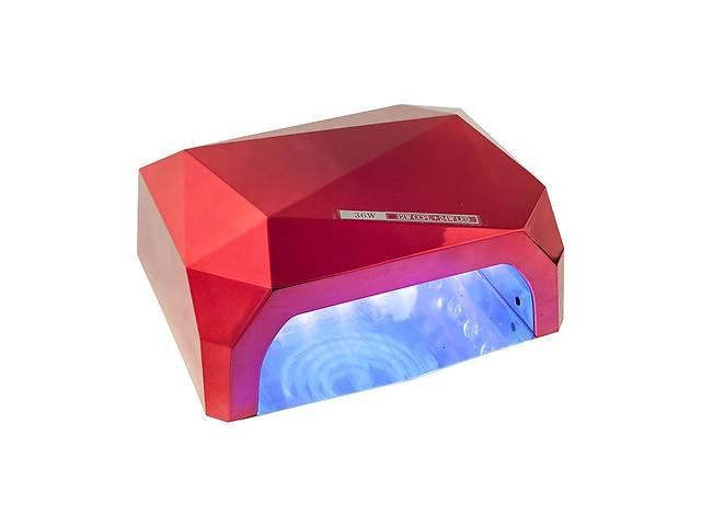 купить бу УФ лампа Kronos CCFL+LED UV D-058 36 Вт Красный  (3694_sp) в Києві