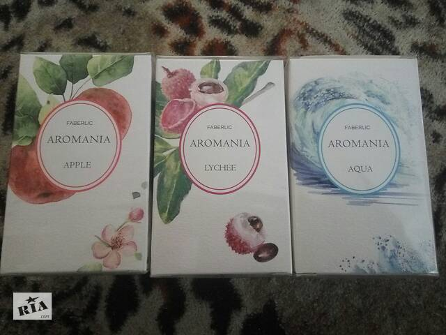 купить бу Женская туалетная вода Faberlic Aromania Aqua Lychee 30мл духи парфуми фруктовый свежий морской сладкий аромат в Мариуполе