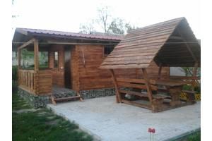Беседка, альтанка, дом из дерева