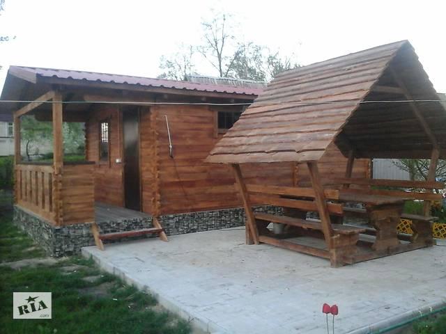 Беседка, альтанка, дом из дерева- объявление о продаже  в Житомире