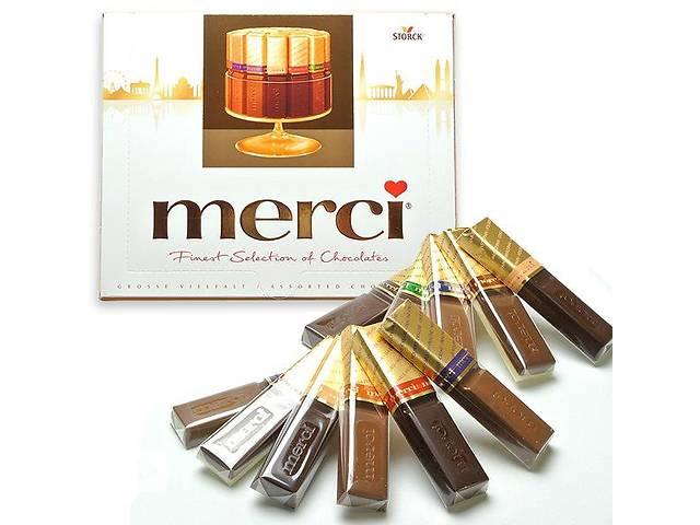 бу Шоколадные конфеты Merci ( мерси 250 г ) в Ужгороде
