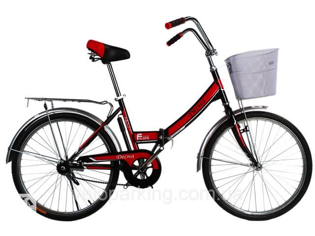 купить бу Городской складной велосипед Десна 24 (Украина) 2019 в Дубно