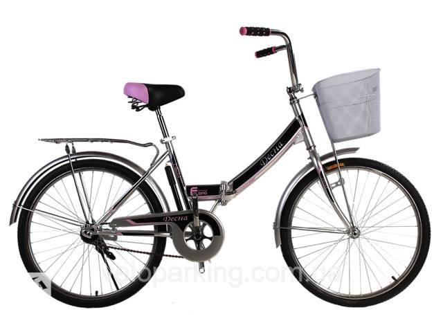 купить бу Городской складной велосипед Десна 24 (Украина) 2019 в Дубно (Ровенской обл.)
