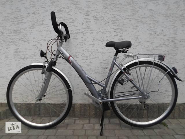 """Велосипед ALU-REX 28"""" з Німеччини Алюмінієвий.- объявление о продаже  в Турийске"""