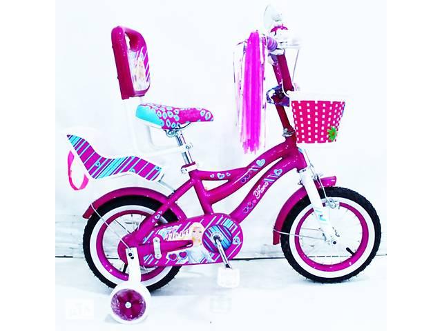 """Велосипед детский с родительской ручкой """"Flora-12"""" дюймов- объявление о продаже  в Львове"""