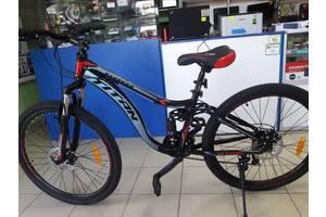 Нові Велосипеди-двопідвіси Titan