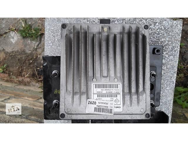 бу Блок управления двигателем  Renault Kangoo 8201112294 в Луцке
